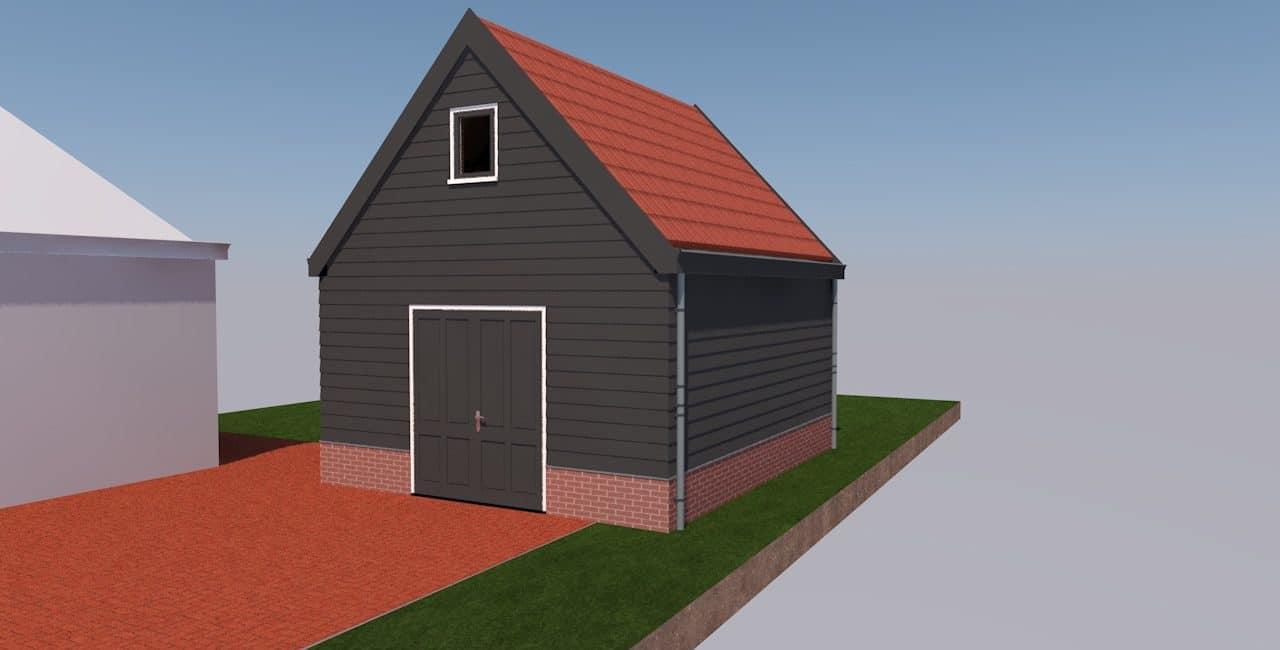 Voorzijde-garage