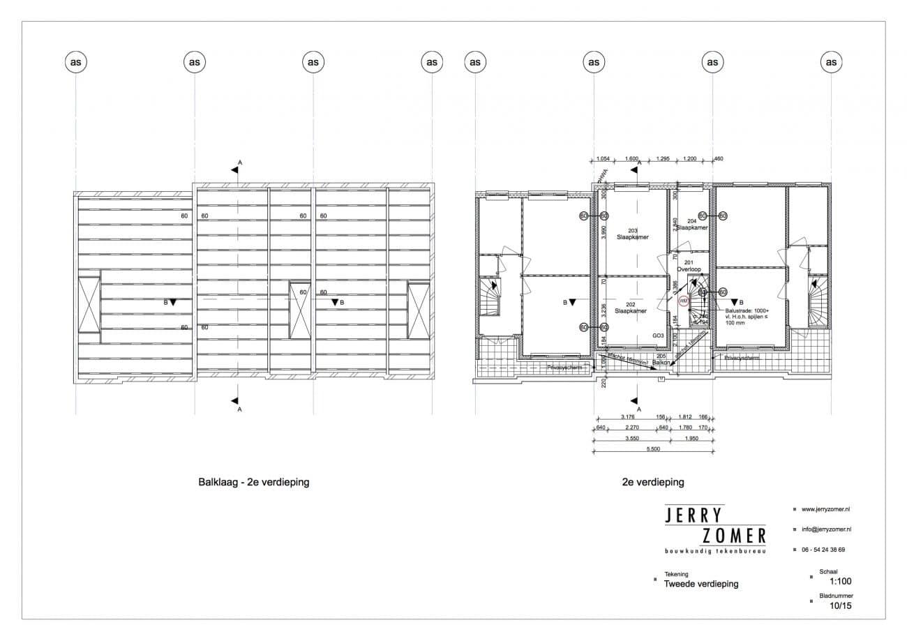 dakopbouw haarlem tek 2